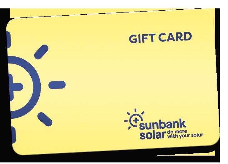 Sunbank Solar Gift Card